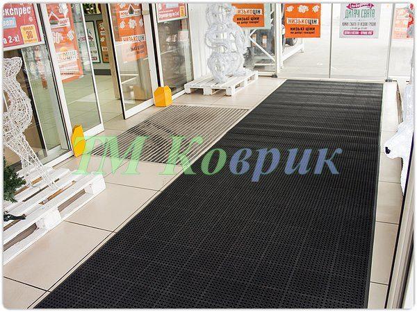 Модульные грязезащитные покрытия