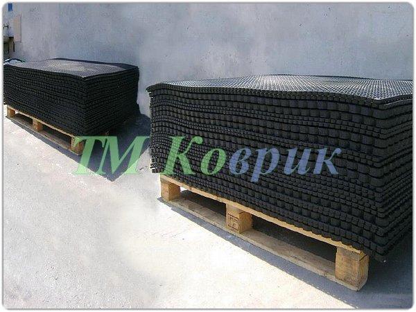 резиново сотовое коврики