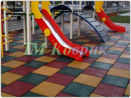Покрытие для детской площадки (40 мм) купить
