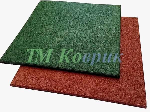 Резиновое покрытие для площадок (25 мм)