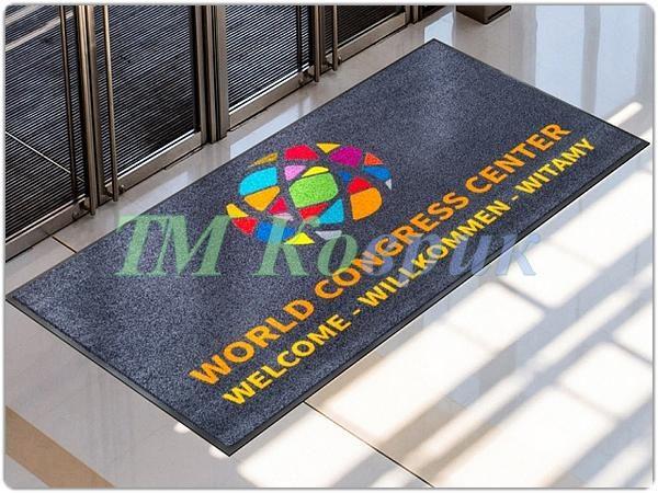 Грязезащитные ковры с логотипом