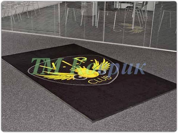 Грязезащитные коврики с логотипом