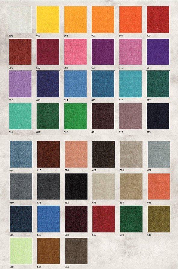 цветовая гамма коврика с логотипом велюр