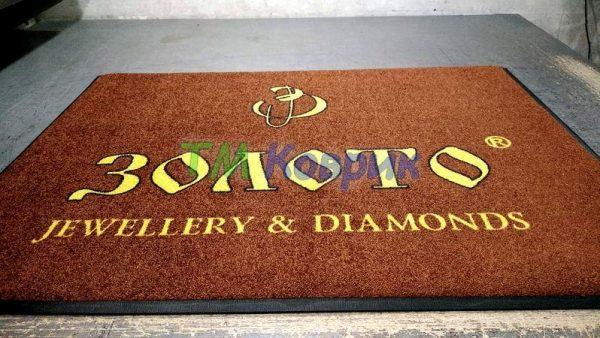 логотипы на коврах купить