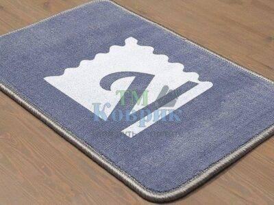 коврик с лого велюр