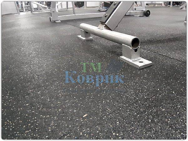 Резиновое покрытие для спортзала купить 1200х1800х15мм шт.