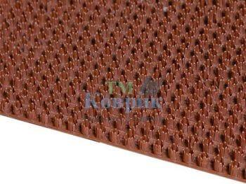 Покрытие щетинистое коричневое